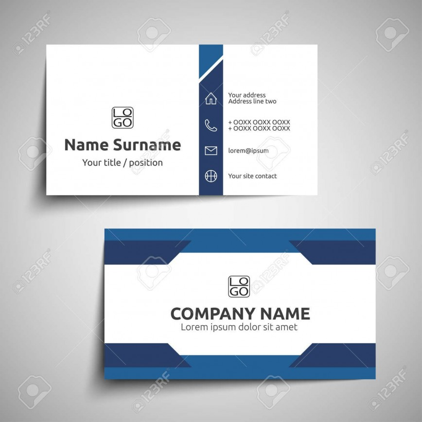 000 Excellent Simple Visiting Card Design Photo  Calling Busines Template Free In Photoshop868