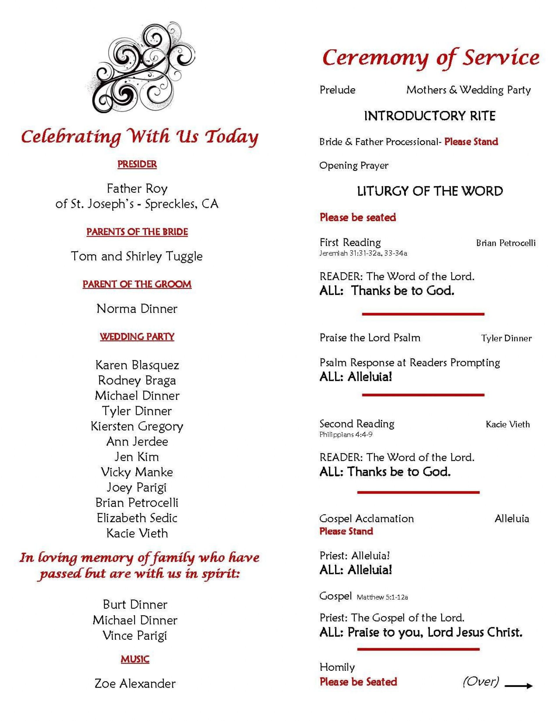 Ceremony Program Template from www.addictionary.org
