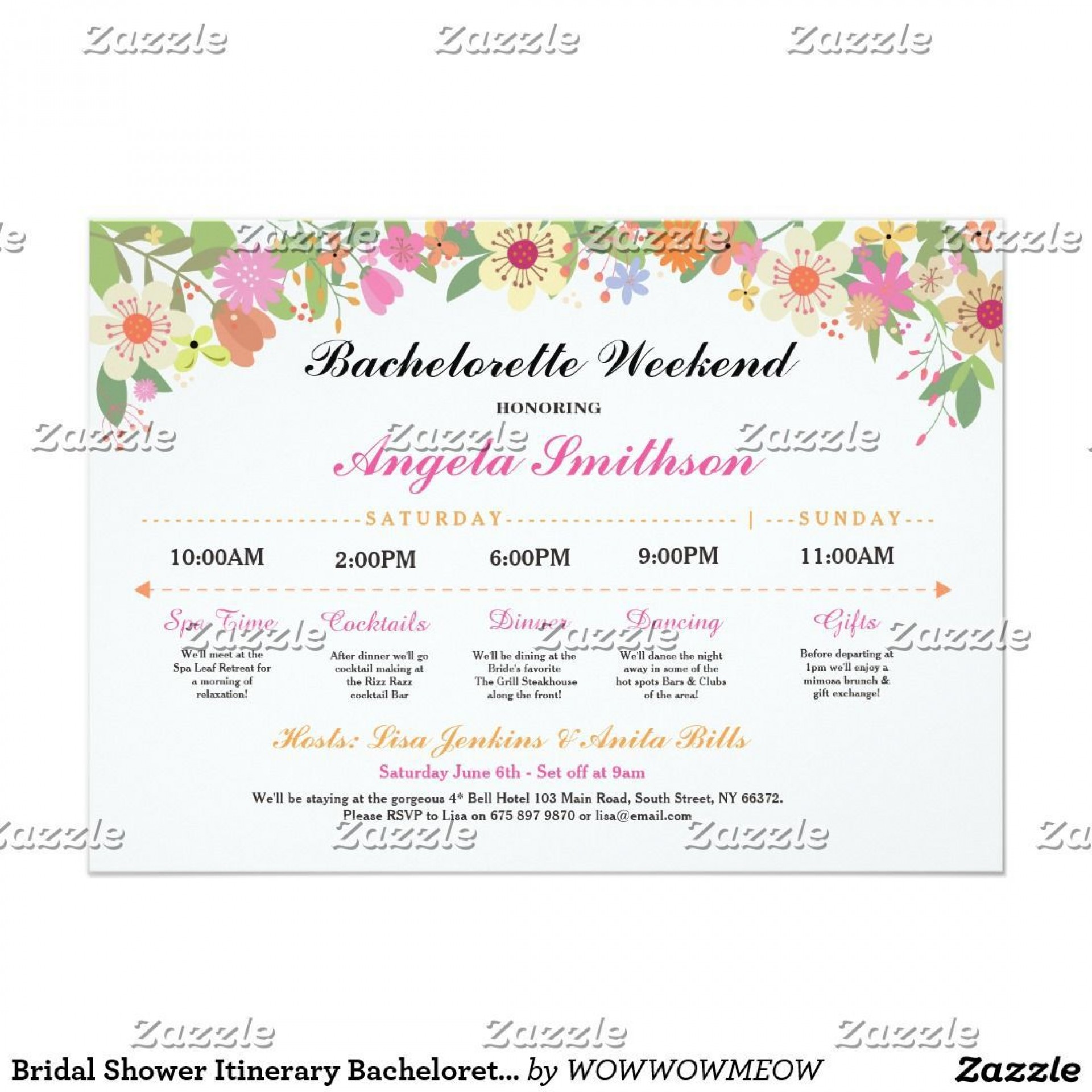 000 Exceptional Bachelorette Party Itinerary Template Free High Definition  Download1920