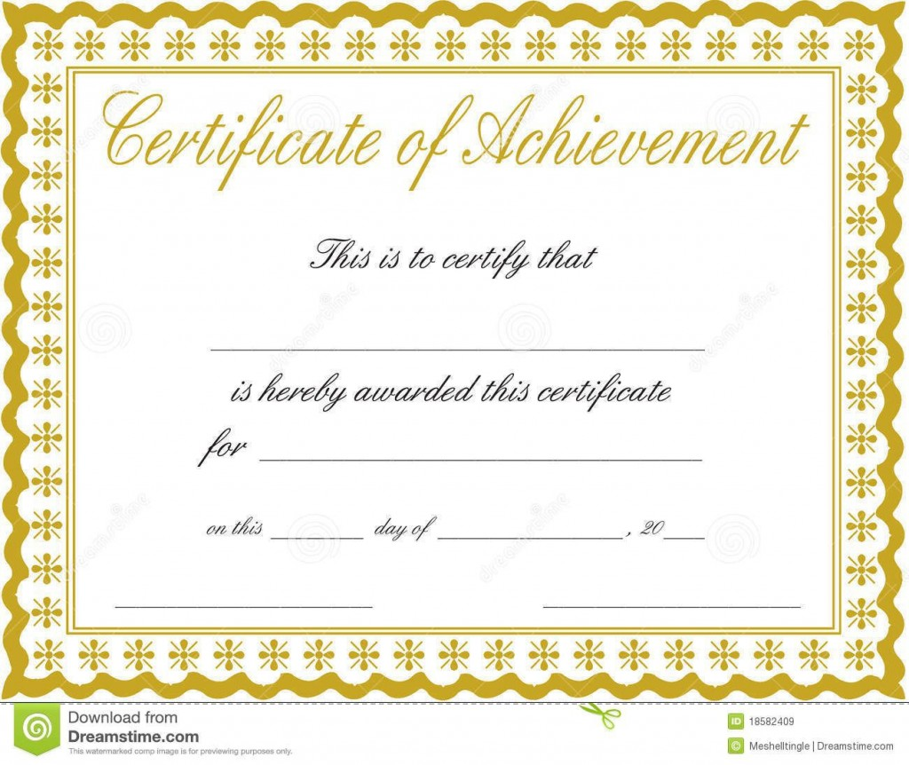 000 Exceptional Certificate Of Achievement Template Free High Def  Award Download WordLarge