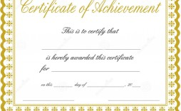 000 Exceptional Certificate Of Achievement Template Free High Def  Award Download Word