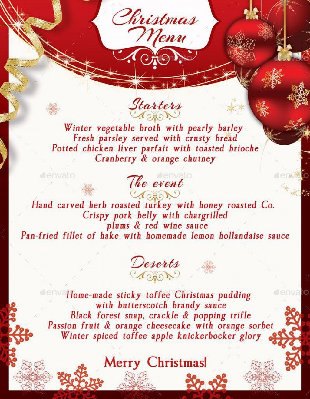 000 Exceptional Free Christma Template For Word Concept  Holiday Party Invitation Recipe Card Printable StationeryLarge