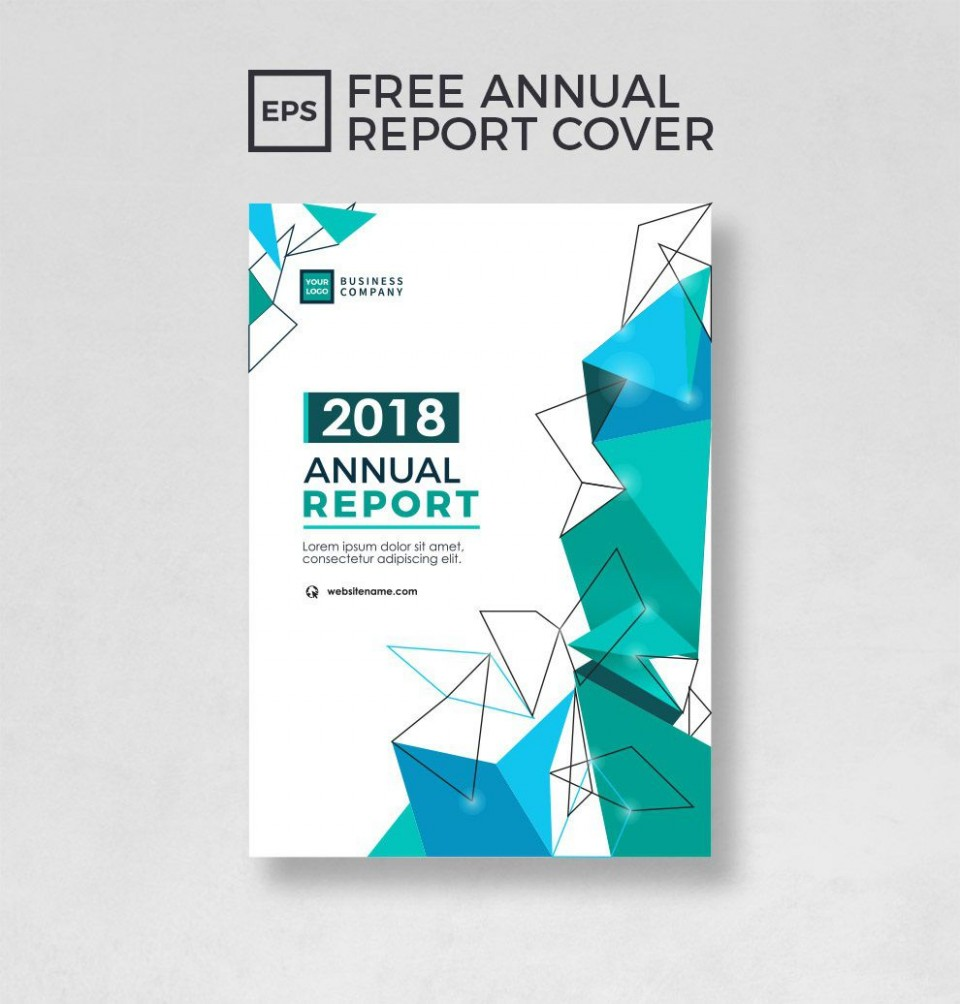 000 Exceptional Free Download Annual Report Cover Design Template High Definition  Indesign In Word960