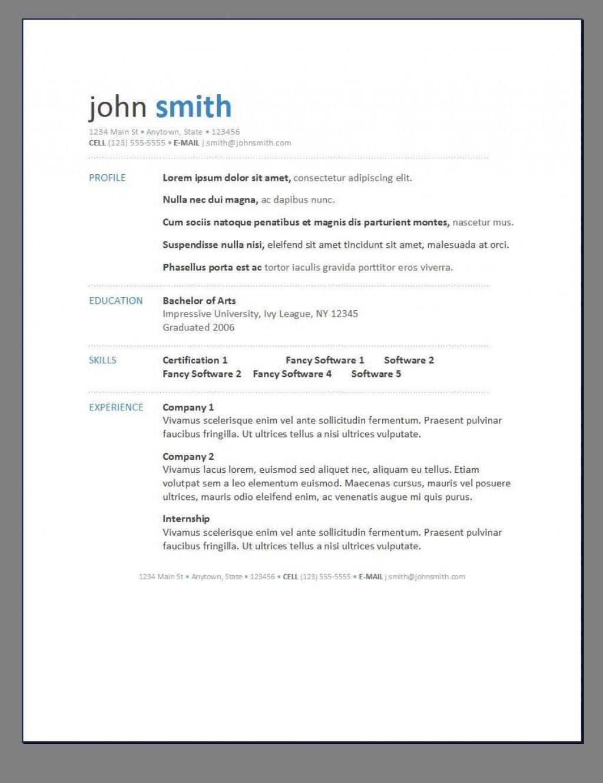 000 Exceptional Free Printable Resume Template Word Photo  MicrosoftLarge