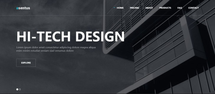 000 Exceptional Free Responsive Html5 Template Example  Download For School Bootstrap Website728