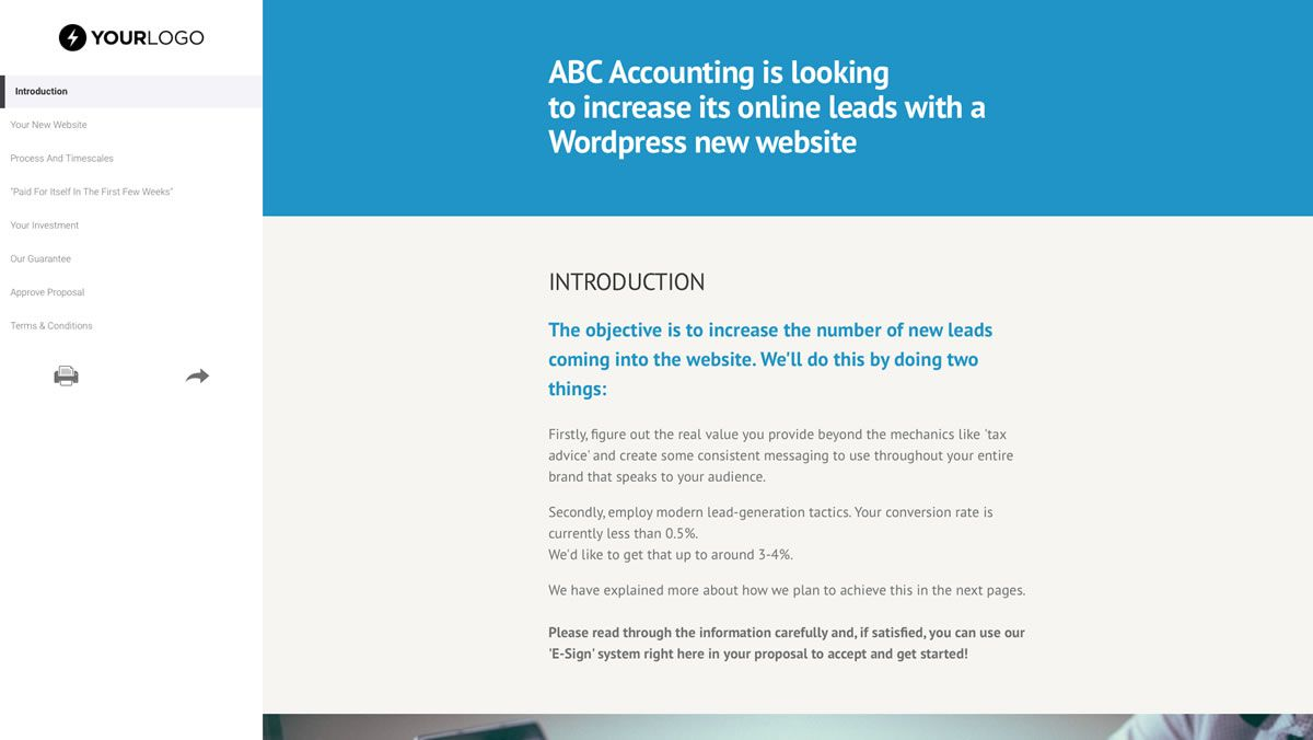 000 Exceptional Freelance Web Developer Proposal Template Example Full