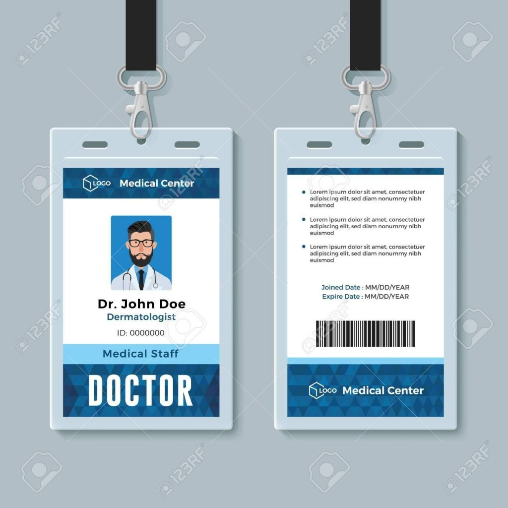 000 Exceptional Id Badge Template Word High Def  Free EmployeeLarge