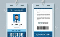 000 Exceptional Id Badge Template Word High Def  Free Employee