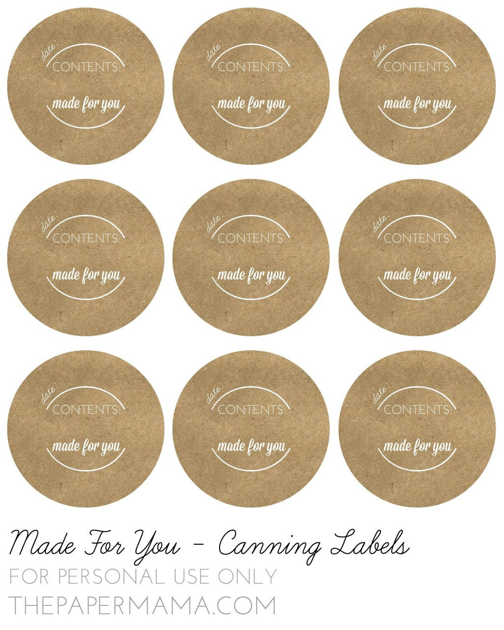 000 Exceptional Mason Jar Label Template Example  Word AveryLarge