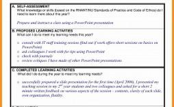 000 Exceptional Professional Development Plan For Teacher Template Doc High Resolution