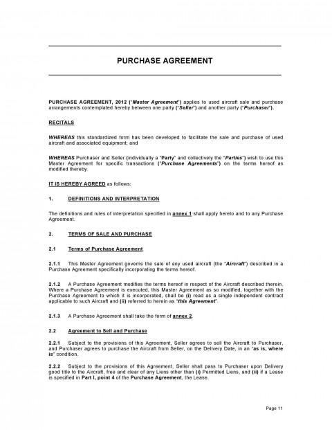 000 Exceptional Property Purchase Agreement Template Free Sample  Mobile Home480