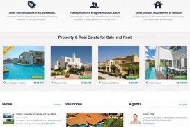 000 Exceptional Real Estate Template Wordpres High Resolution  Homepres - Theme Free Download Realtyspace