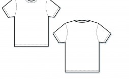 000 Exceptional T Shirt Template Vector Sample  Black Front And Back Free Download Illustrator