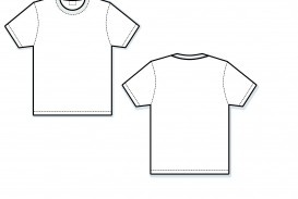 000 Exceptional T Shirt Template Vector Sample  Illustrator Design Free Download Ai