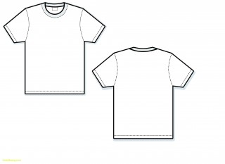 000 Exceptional T Shirt Template Vector Sample  Illustrator Design Free Download Ai320