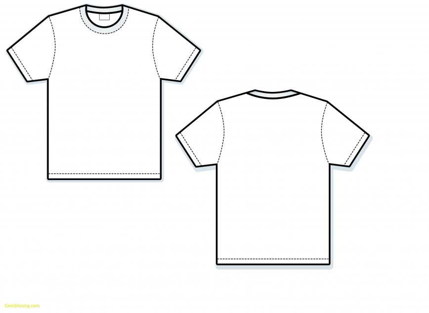 000 Exceptional T Shirt Template Vector Sample  Illustrator Design Free Download Ai868