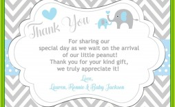 000 Exceptional Thank You Card Wording Baby Shower Gift Concept  For Multiple Group