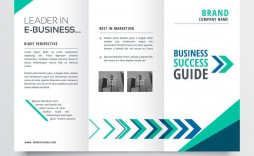 000 Exceptional Three Fold Brochure Template Sample  Free 3 Psd A4 Indesign