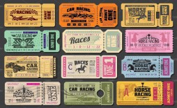 000 Exceptional Vintage Concert Ticket Template Free Download High Definition