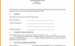 000 Fantastic Australian Employment Contract Template Free Picture