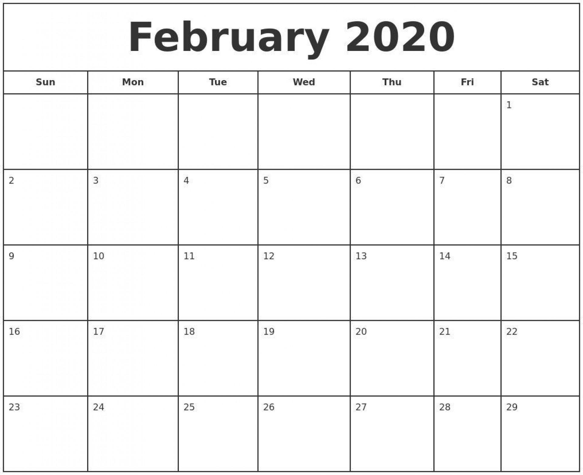 000 Fantastic Blank Calendar Template Pdf Image  Free Yearly1920
