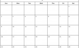 000 Fantastic Blank Calendar Template Pdf Image  Free Yearly