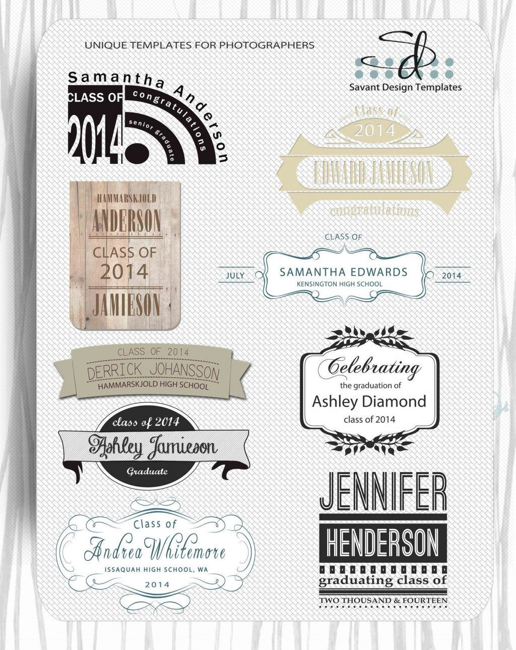 000 Fantastic Free Senior Template For Photoshop Highest Clarity  CollageLarge