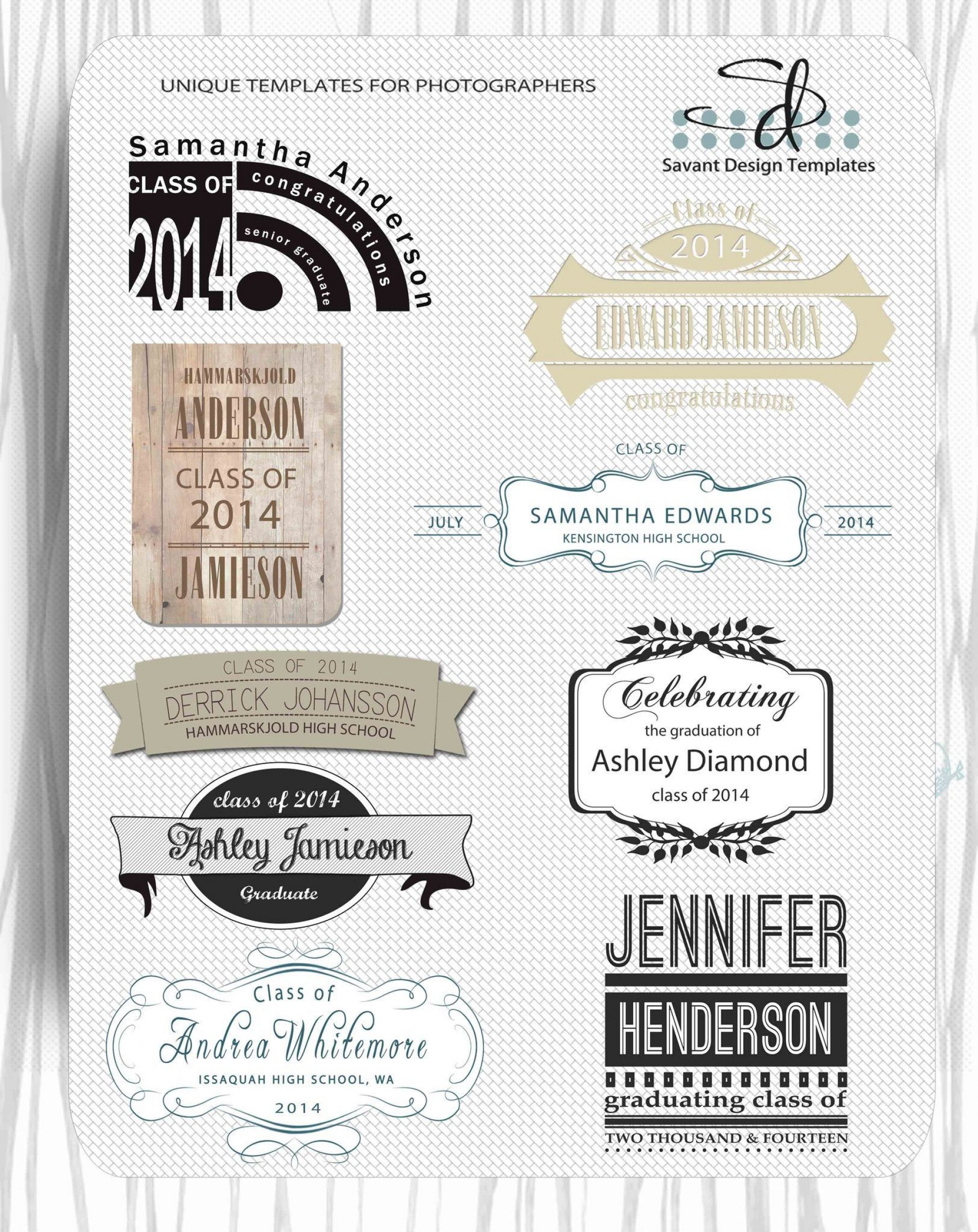 000 Fantastic Free Senior Template For Photoshop Highest Clarity  Collage1920