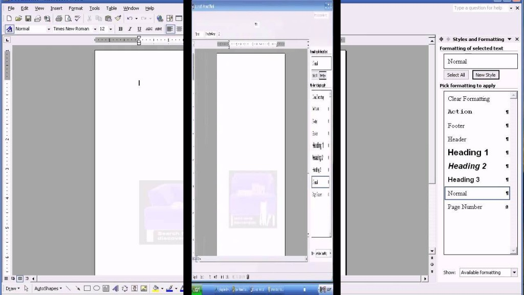 000 Fantastic How To Use Microsoft Word Screenplay Template High Resolution Large