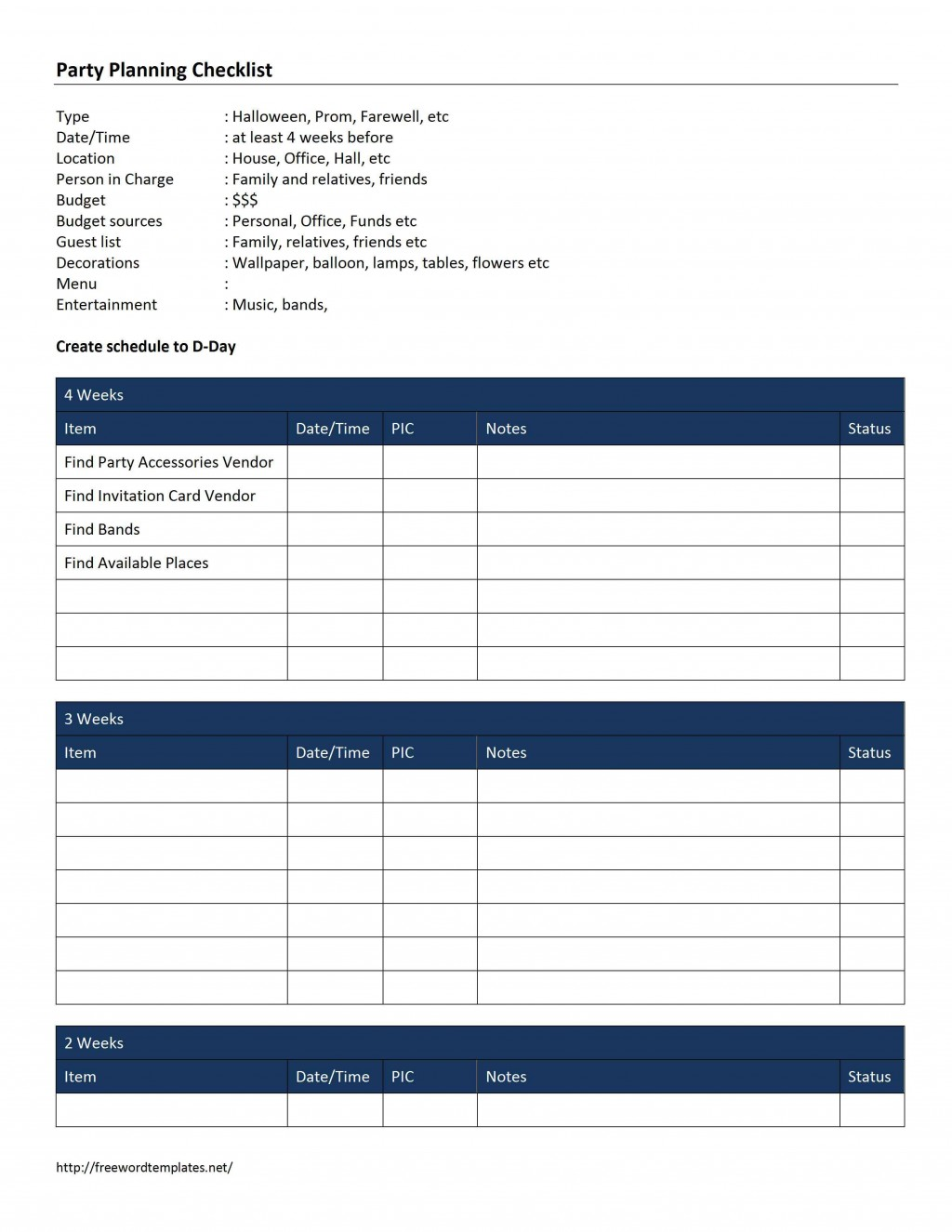 000 Fantastic Party Guest List Template Excel Free Example Large