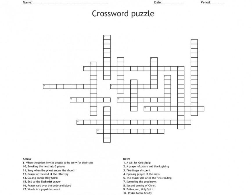 000 Fantastic Praise Crossword Clue Picture  Extol 5 Letter Four868