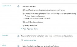 000 Fantastic Project Kickoff Meeting Template Picture  Management Agenda Construction Doc Email