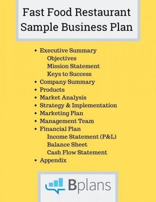 000 Fantastic Restaurant Marketing Plan Template Free Download Image 320
