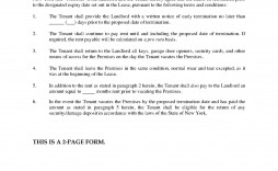 000 Fantastic Template For Terminating A Lease Agreement Concept  Sample Letter Rental