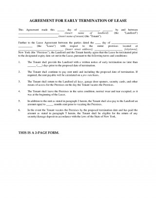 000 Fantastic Template For Terminating A Lease Agreement Concept  Rental Sample Letter320