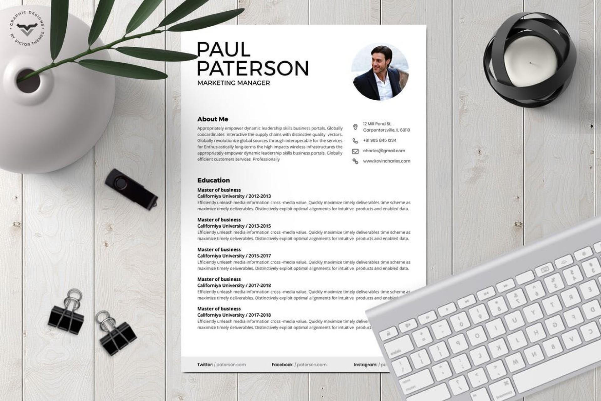 000 Fascinating Best Resume Template 2020 Design  Top Rated Free Download Reddit1920