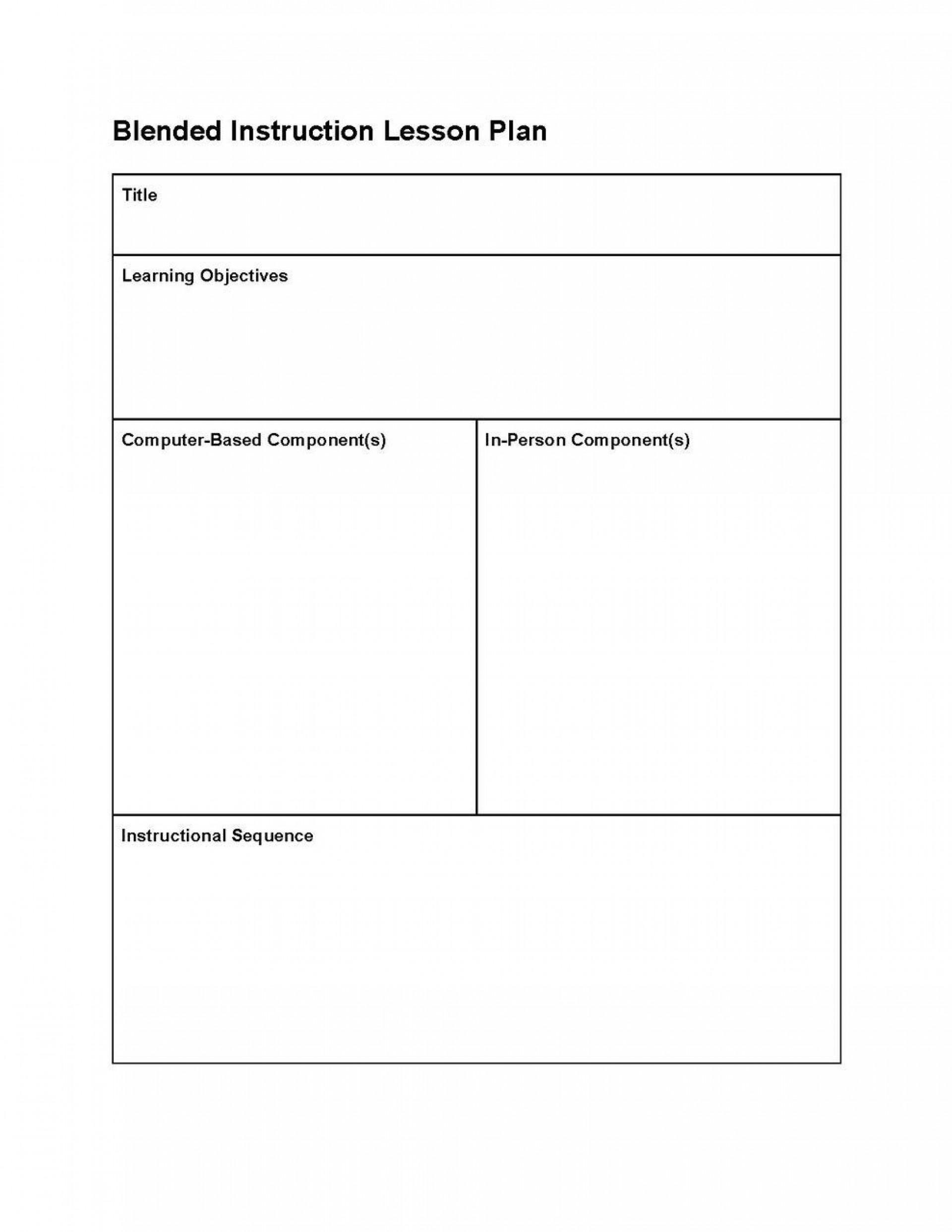 000 Fascinating Editable Lesson Plan Template Idea  Templates For Preschool Word Free1920