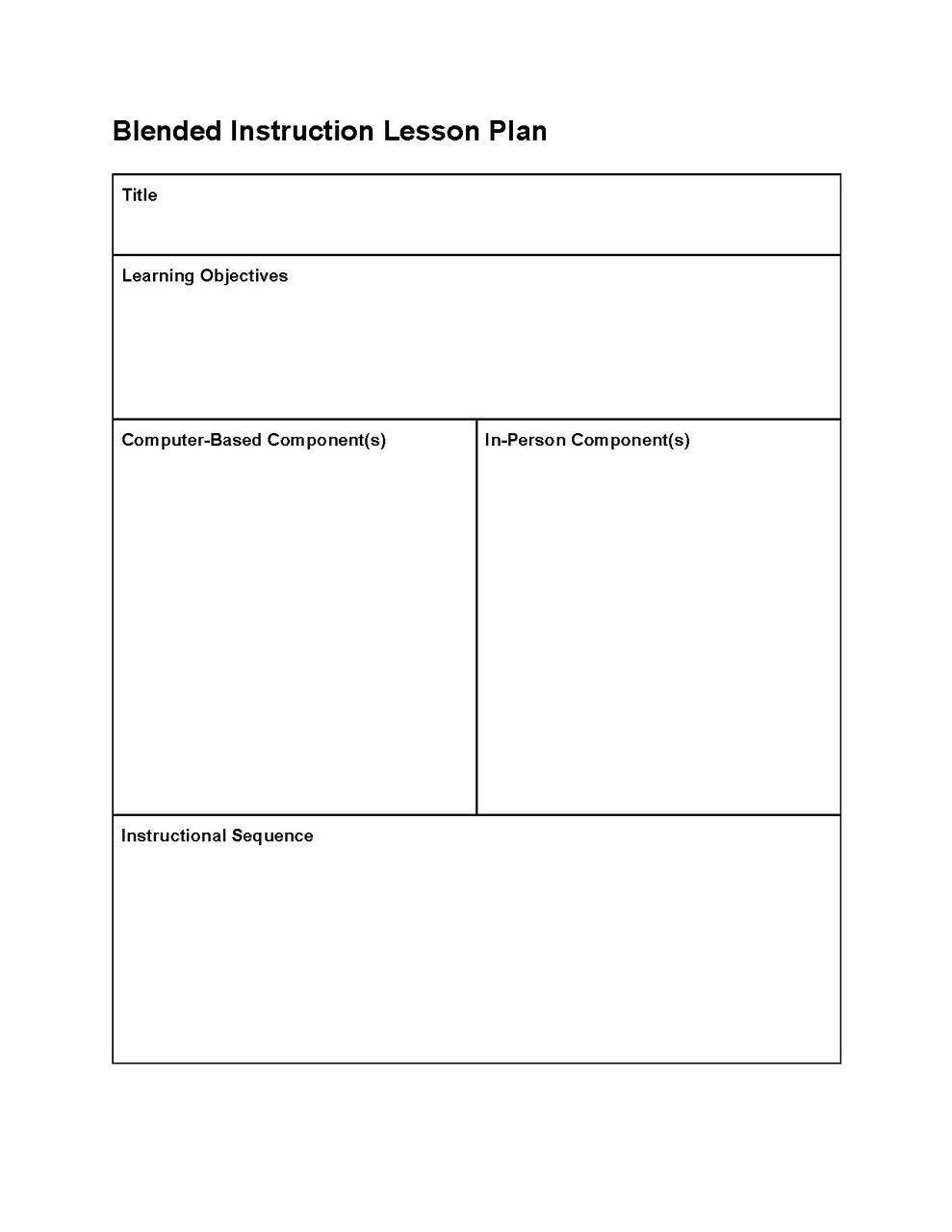 000 Fascinating Editable Lesson Plan Template Idea  Templates For Preschool Word FreeFull