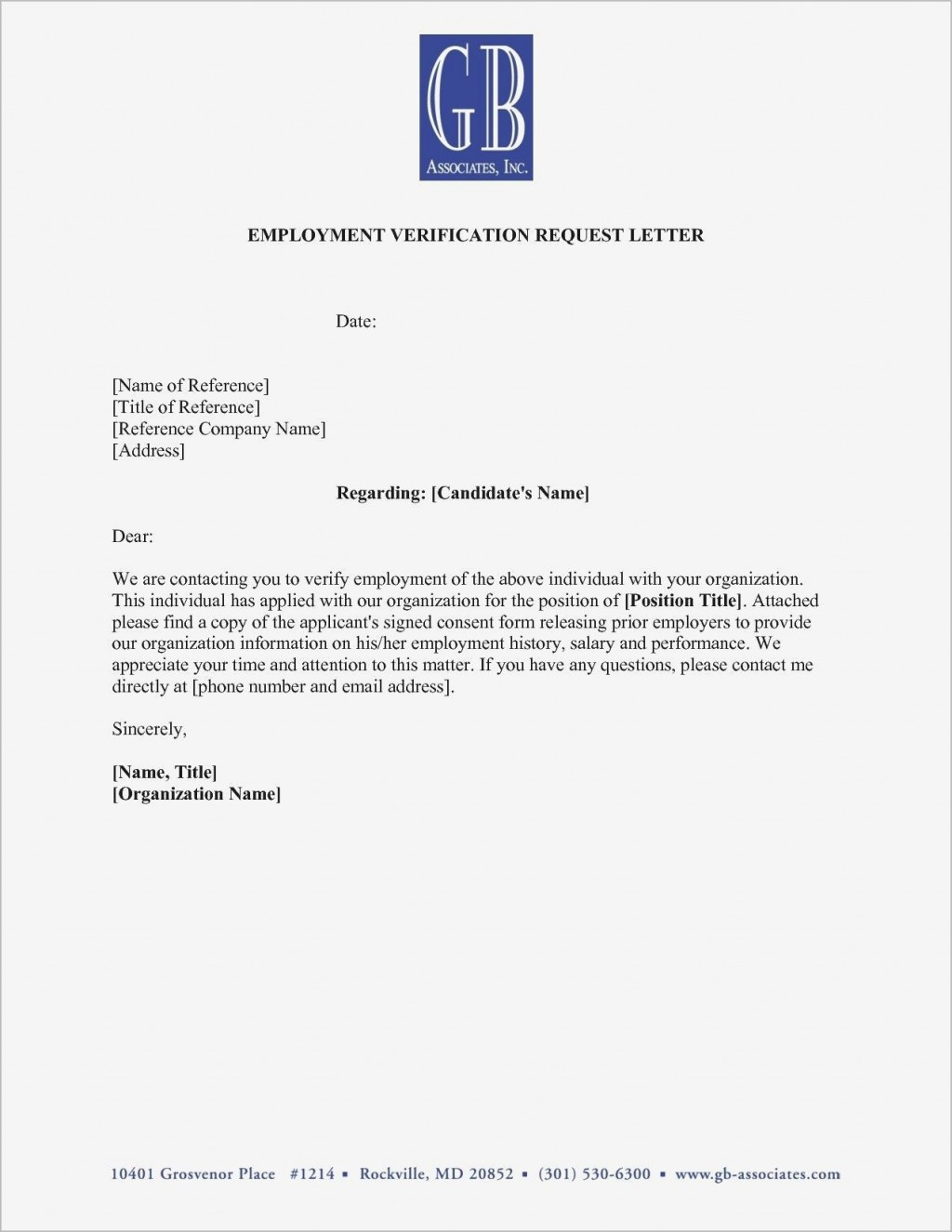 000 Fascinating Employment Verification Letter Template Word Picture  South AfricaLarge
