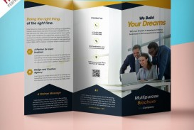 000 Fascinating Free Brochure Template Psd File Front And Back Inspiration