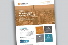 000 Fascinating Free Flyer Template Word Inspiration  Document Blank Download