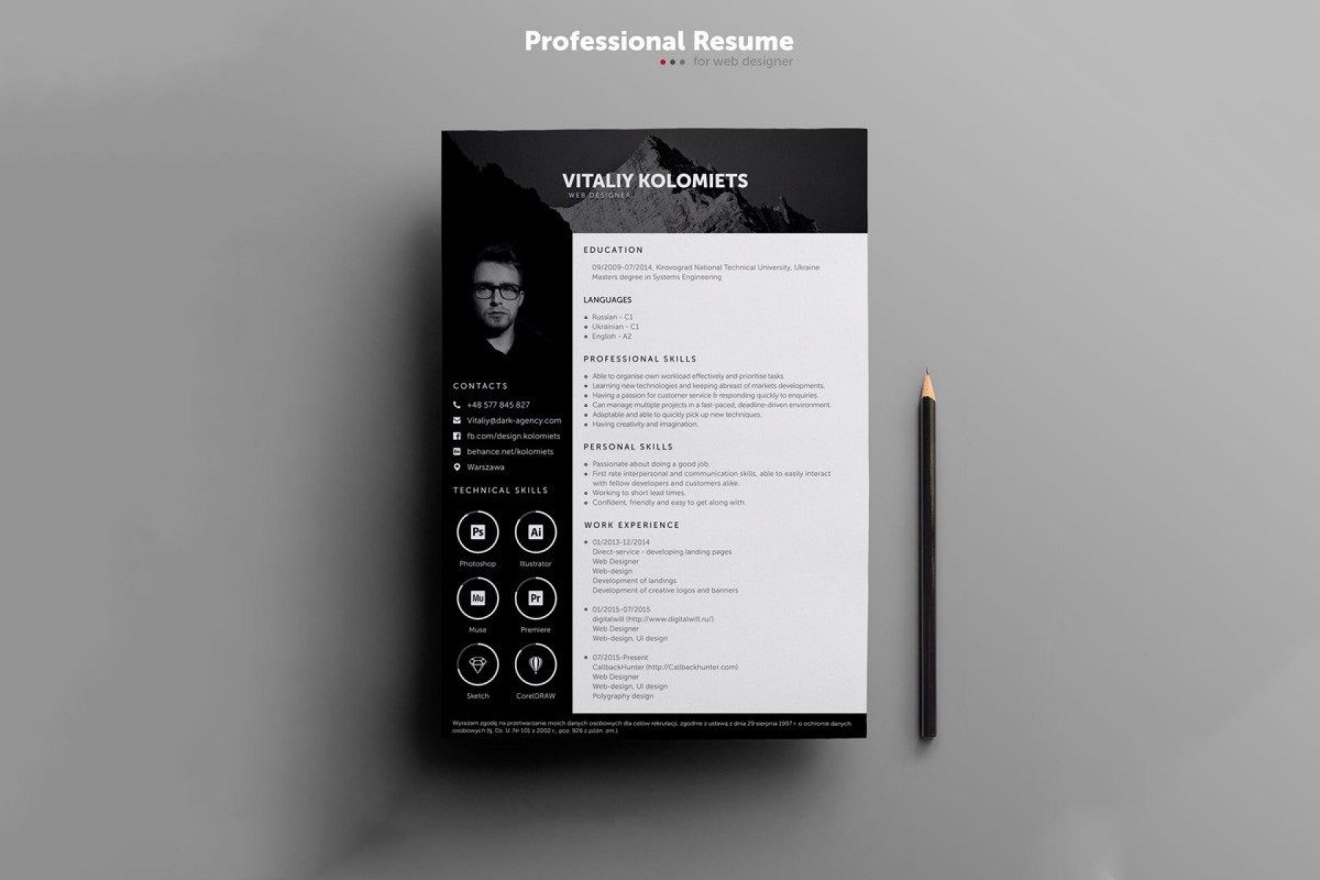 000 Fascinating Free Resume Template 2015 Photo 1920