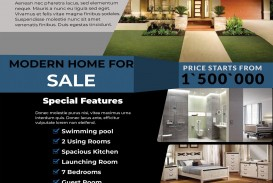 000 Fascinating House For Sale Flyer Template Photo  Free Real Estate Example By Owner