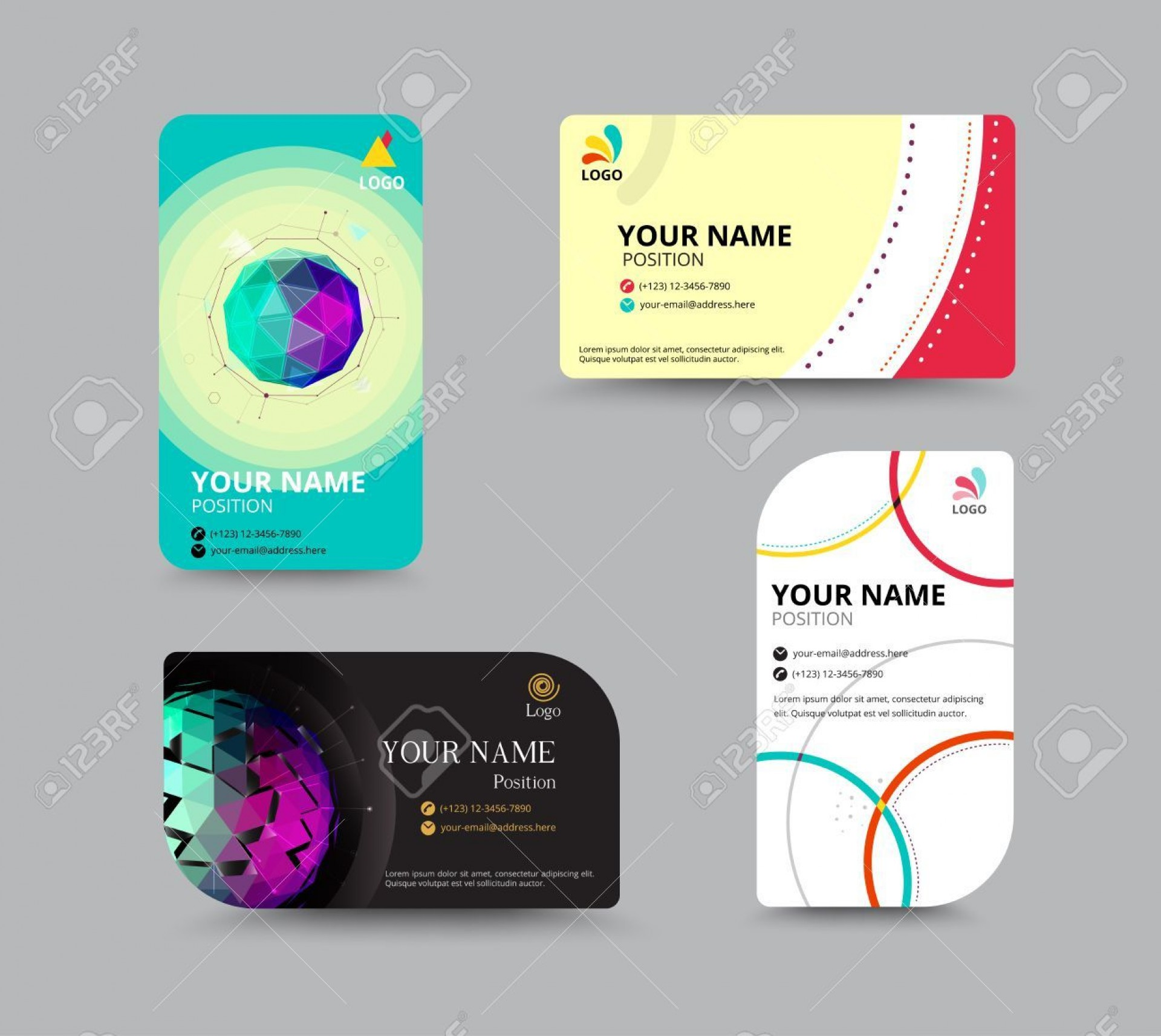 000 Fascinating Name Tag Design Template High Def  Free Download Psd1920