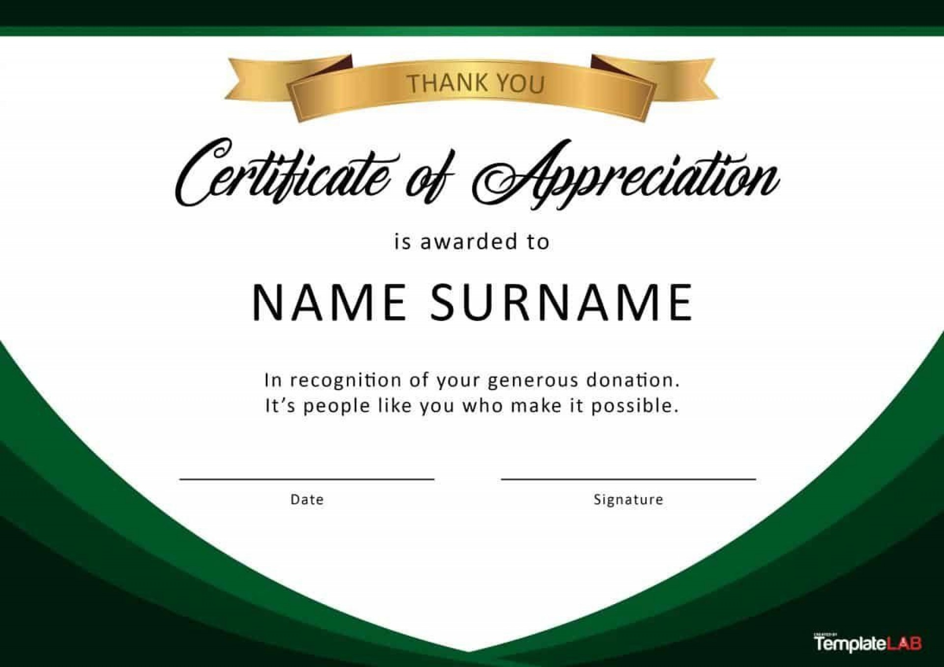 000 Fascinating Recognition Certificate Template Free Example  Employee Award Of Download Word1920
