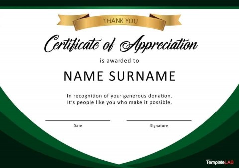 000 Fascinating Recognition Certificate Template Free Example  Employee Award Of Download Word480