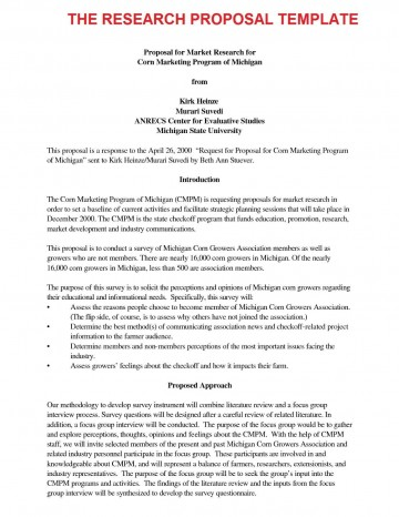 000 Fascinating Research Paper Proposal Template Apa Concept 360