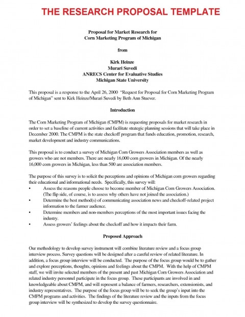 000 Fascinating Research Paper Proposal Template Apa Concept 480