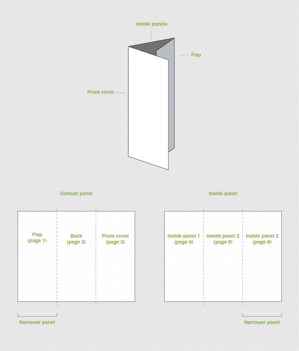 000 Fascinating Three Fold Brochure Template Indesign Idea  3 A4Large