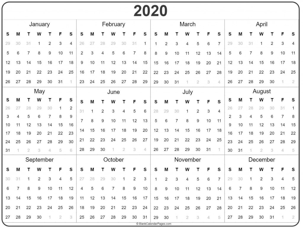 000 Fearsome 2020 Payroll Calendar Template Inspiration  Biweekly Canada Free ExcelLarge